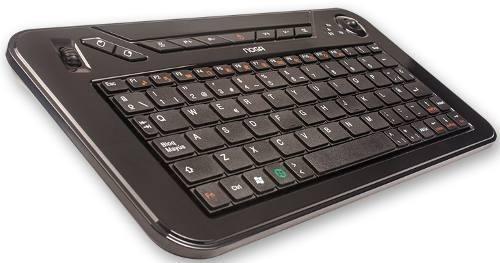 teclado + mouse inalambrico noganet nkb-k3 2.4g pc smart tv