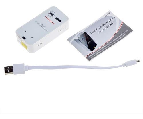 teclado mouse laser virtual bluetooth inalambrico ultra-port