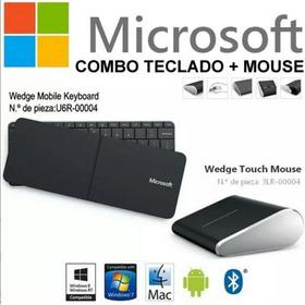 Teclado Mouse Microsoft Inalambrico Bluetooth Tablet Laptop