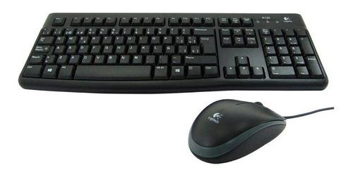 teclado + mouse mk120 logitech