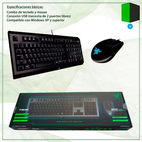 teclado mouse razer