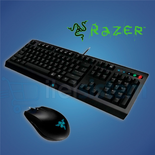 teclado + mouse razer cyclosa abyssus kit  itelsistem