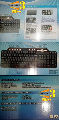 teclado multimedia acceso