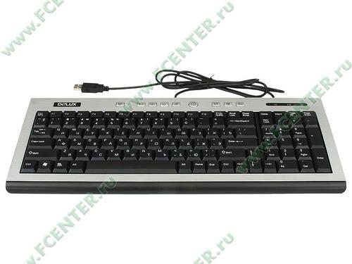 teclado multimedia delux dlk-5100 resistente de agua