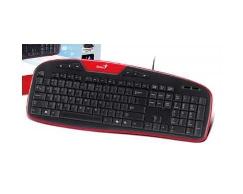 teclado multimedia genius kb-m205 resistente al agua español