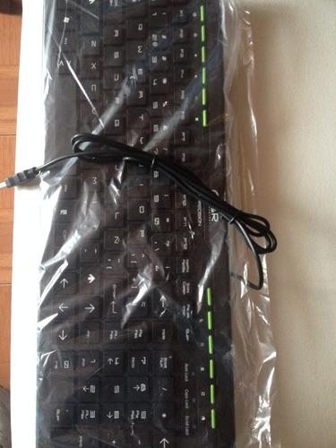 teclado multimedia mediano y grande