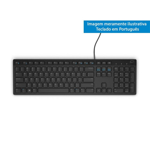 teclado multimídia dell