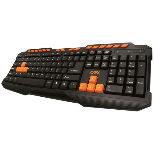 teclado multimídia usb preto action gamer tc200 - oex
