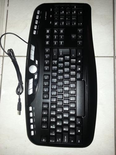 teclado  multimídia usb preto ld-tc2830