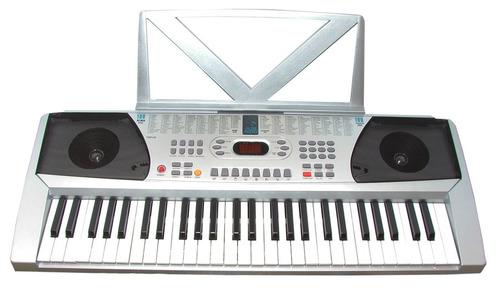 teclado musical 54 teclas 100 melodias/ritmos