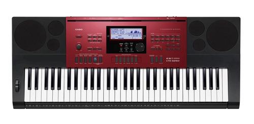 teclado musical 61 teclas sensíveis ctk-6250 casio com fonte