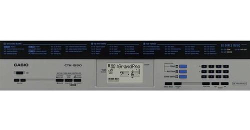teclado musical casio ctk-1550 k2