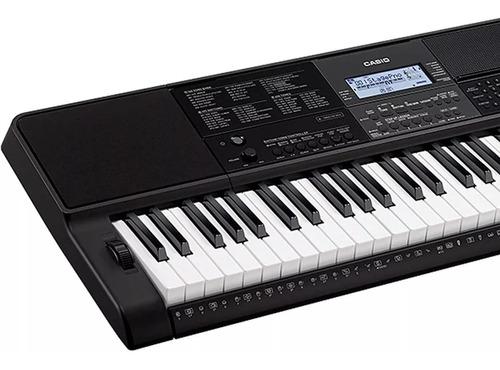 teclado musical casio digital preto ct-x800