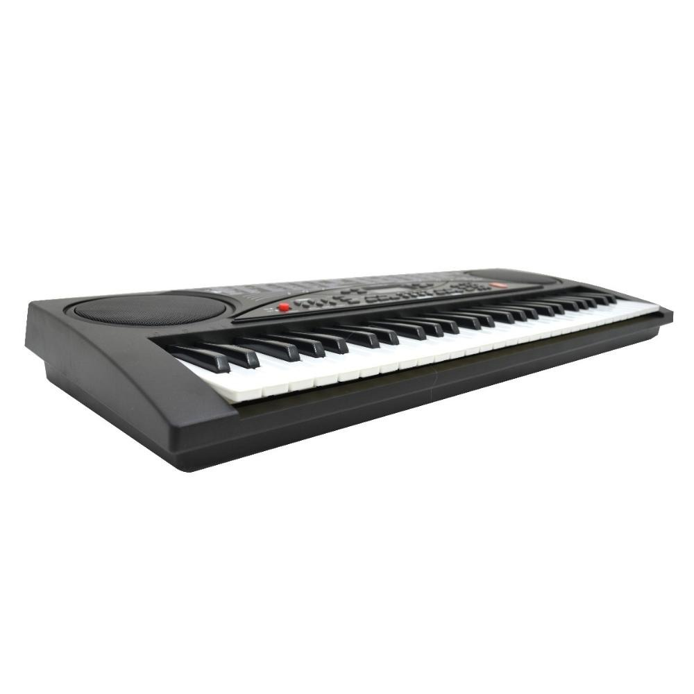 afbd2d826ef12 teclado musical con 54 teclas micrófono display lcd kaiser. Cargando zoom.