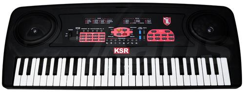 teclado musical de 54 teclas con 100 voces y 30 demos xaris.