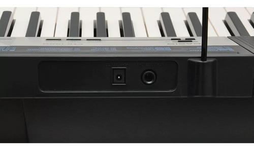 teclado musical digital 61 teclas 5/8 ctk-1550 casio