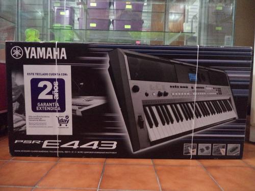 teclado musical digital yamaha psre-443 61 teclas sensibles