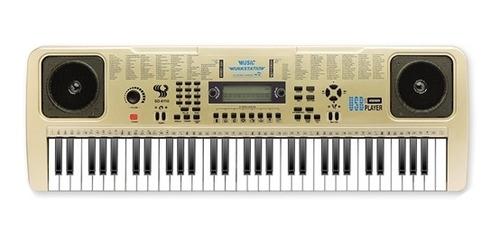 teclado musical gravador arranjador eletronico piano portati