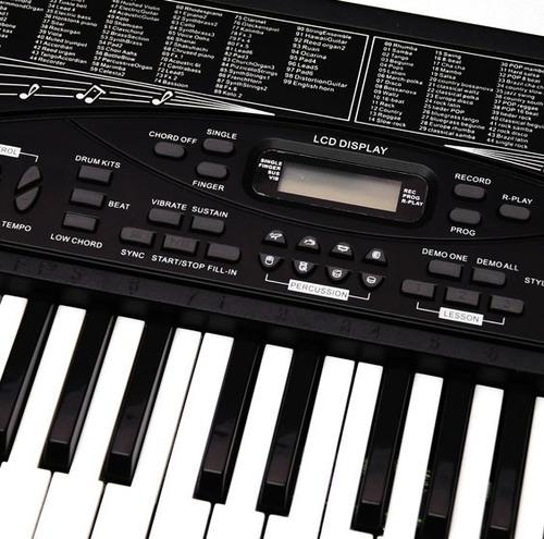 teclado musical profesional diversas funciones tonos y mas