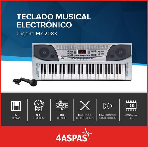 teclado musical teclas