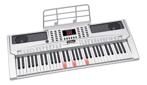 teclado musical waldman 61 teclas keypro 61flash