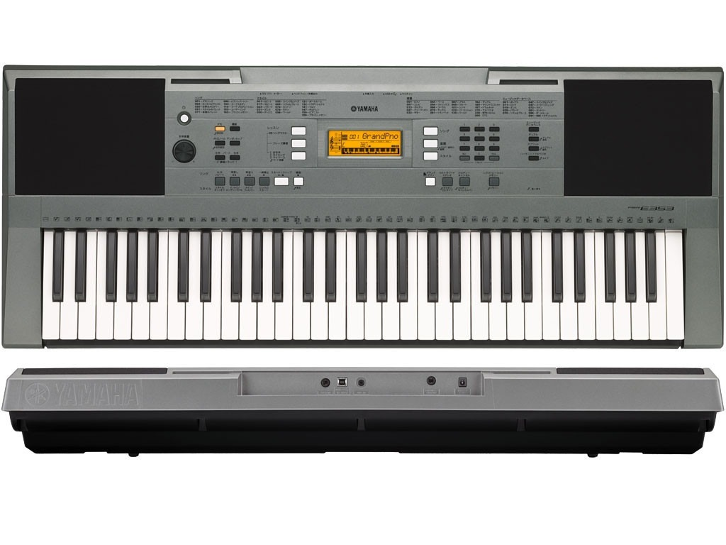 teclado musical yamaha psr e353 5 8 oitavas 989151 r em mercado livre. Black Bedroom Furniture Sets. Home Design Ideas