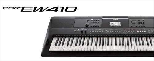 teclado musical yamaha psrew410 preto bivolt -  76 teclas