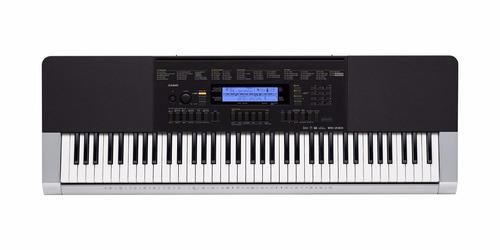 teclado musicall casio wk240 76 teclas+fonte frete grátis