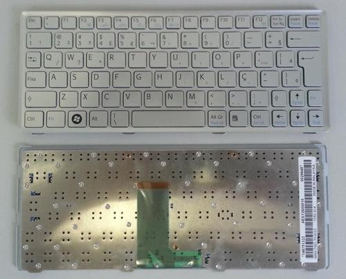 teclado net sony vaio vpcw abnt2 com ç prata