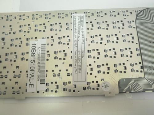 teclado netbook philco 10d mp-10b68pa-f51 original novo br ç