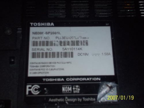 teclado netbook toshiba nb305
