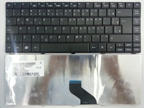 teclado notebook acer aspire 4738zg original