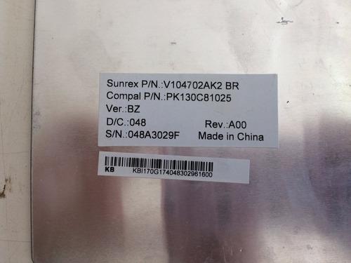 teclado notebook gateway n55c02b