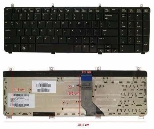 teclado notebook hp dv7-3000 ingles tec 200