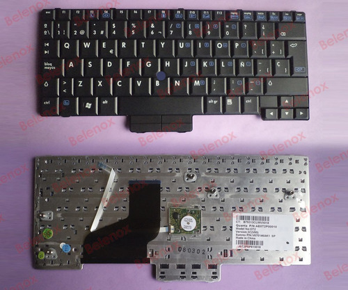 teclado notebook hp elitebook 2510p 2530p 0t2 ae0t2p00010
