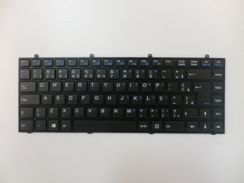 teclado notebook itautec w7530 com ç - mp-12r78pa-430