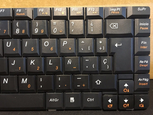 teclado notebook lenovo g460 - g465 - g465a español nuevo