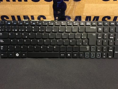 teclado notebook samsung np300e5a español repuesto original