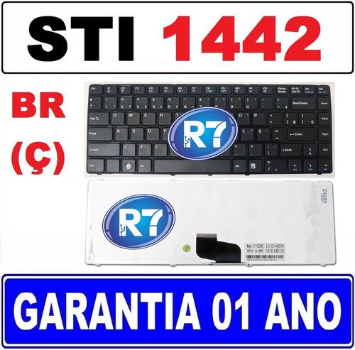 teclado notebook semp toshiba is 1442 v111330ak2br br (ç)