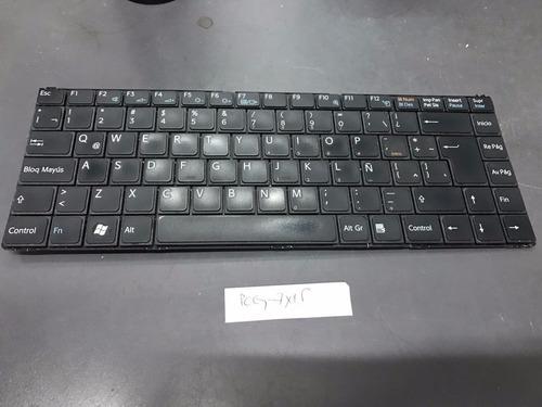 teclado notebook sony pcg-7x1p español