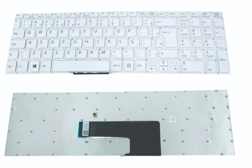 teclado notebook sony svf15 svf152c29x svf15213cbb branco br
