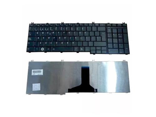 teclado notebook toshiba c655 c655d c650 l650   s/c
