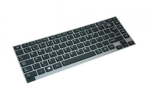 teclado notebook toshiba portege pt235u-05u0cwg1 | preto