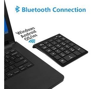 teclado numérico bluetooth - excelente calidad