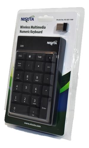 teclado numerico inalambrico pc numpad wireless