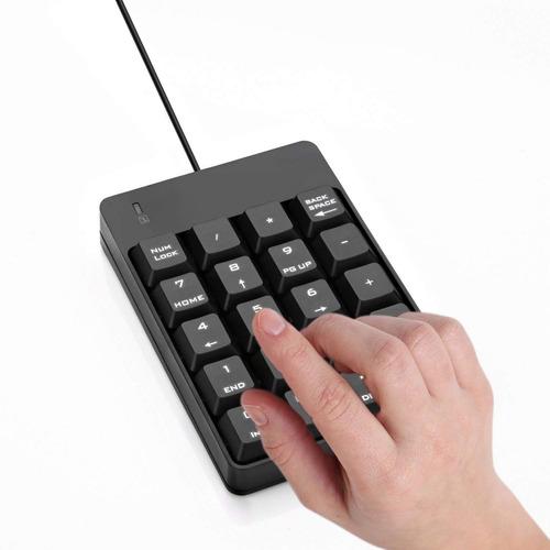 teclado numerico - jelly comb - usb - excelente