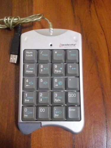 teclado numérico leadership - model: ck-007