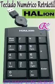 teclado numerico nuevos en blister