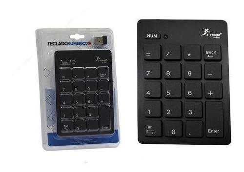 teclado numérico sem fio knup kp-2038
