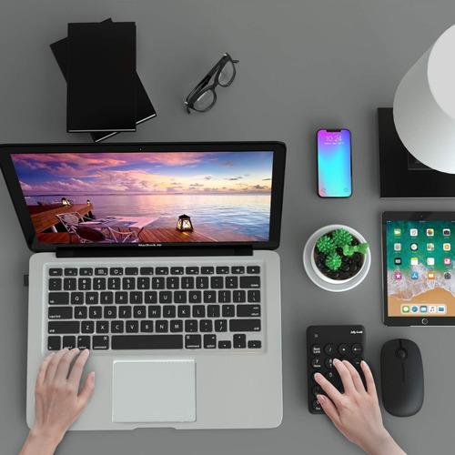 teclado numerico y mouse inalámbricos jelly comb - excelente